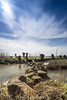 Carnisse Grienden. (PvRFotografie) Tags: nederland holland nature natuur longexposure nd clouds wolken landscape landschap scenery view wideangle groothoek leebigstopper leesw150 lee09softgrad 12mm 1224mm sigma1224mm sigma12244556 sonyilca99m2