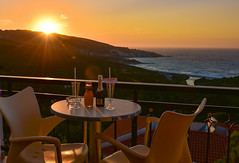 Welcome Drink (free3yourmind) Tags: welcome drink martini sunset sun sea view balcony table chairs ikaria icaria greece greek islands summer holidays coctail
