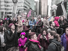 IMG_0217 (justine warrington) Tags: womens march womensmarch womensmarchonwashington washington pink pussy hats pinkpussyhat protest signs trump 45th presidential election january 21st 2017 potus resist resistance is fertile