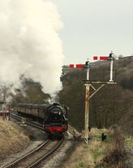 45212 (feroequineologist) Tags: 45212 black5 kwvr lms worthvalleyrailway worthvalley railway train steam