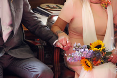 _MG_5645 (andy michael2012) Tags: wedding bride groom dress drinks hands tattoo ring hold grasp