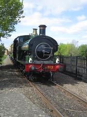 IMG_4751 - GWR Hudswell Clarke Saddle Tank 813 (SVREnthusiast) Tags: didcotrailwaycentre didcot railway centre gwrhudswellclarkesaddletank813 gwr hudswellclarke saddletank 813
