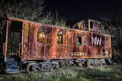 Trapped on The Durango Express (jackalope22) Tags: train wooden boxcar boone railroad old graveyard rustic