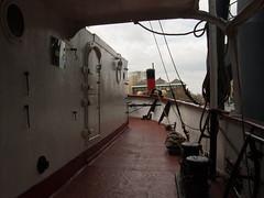 Ship: SS Robin (Fotorob) Tags: expositie greaterlondon vaartuig engeland allesmobiel coaster vrachtschip england londonboroughoftowerhamlets