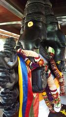 Ganesha (Khamakshi) Tags: spiritual meditation saivasiddhantachurch ganesha mauritius spiritualpark shivling pointelascar rempartriver rivièredurempart