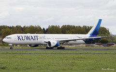 Kuwait Airways 777-300(ER) 9K-AOH (birrlad) Tags: shannon snn international airport ireland aircraft aviation airplane airplanes airline airliner airlines airways taxi taxiway takeoff departing departure runway boeing b777 b773 777 777300er 777369er 9kaoh kuwait ku117 kuwaiti newyork jfk