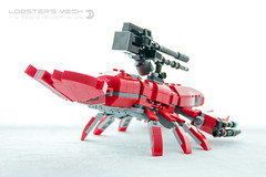 The Revenge of the Lobster (dvdliu) Tags: lego moc lobster mech mecha batman movies