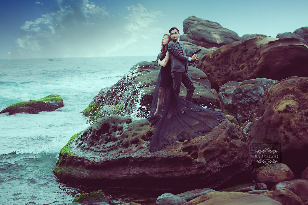 南雅奇岩,東北角南雅奇岩,東北角景點,中和婚紗推薦,板橋婚紗攝影,永和婚紗,視覺流感,南雅奇岩拍婚紗
