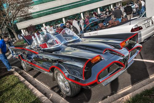 Batmobile (Cars & Coffee of the Upstate)