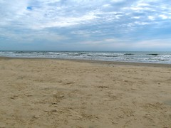 November Beach (dog.happy.art) Tags: beach shore texas padreisland surf water wave waves winter sky corpuschristi