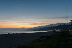 Sunset over Malibu (twinsfan7777) Tags: malibu sunset malibusunset santamonica pacificocean santamonicapier pacificcoasthighway longexposure beach santamonicabeach pizzabytheocean nikond800 sigma35mmf14dghsmart fullframe