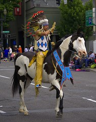 Brave (swong95765) Tags: horse rider animal indian brave parade costume
