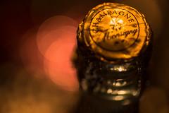 Happy 10 Years! (HMM) (matthiasstiefel) Tags: macromondays happy10years happytenyears champagne golden bokeh