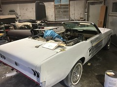 """1967 Ford Mustang Convertible • <a style=""""font-size:0.8em;"""" href=""""http://www.flickr.com/photos/85572005@N00/33434533442/"""" target=""""_blank"""">View on Flickr</a>"""