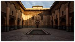 Medersa Ben Youssef (keety uk) Tags: ©stuartbennett photokeetynet morroco desert marrakech berber medersa ben youssef