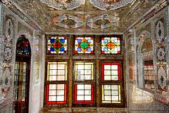 Zinat ol Molk House, Shiraz (Chris Brady 737) Tags: zinatolmolk house shiraz iran persia mirrors qajar qavam stainedglass