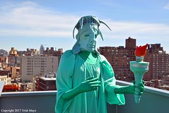 Liberty Is A Scary Thing (Trish Mayo) Tags: liberté liberty statueofliberty sculpture art museum puppiespuppies whitneymuseum