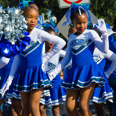 Little Knights (Kevin MG) Tags: mlk parade kingdomday equality peace remember dream king young youth little girl girls