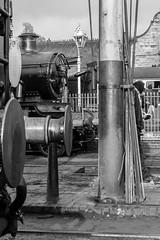 Bradley Manor at Bridgnorth mpd. (Bob Green 52) Tags: bridgnorth bradleymanor 7802 svr severnvalleyrailway svrspringgala2017 severn valley railway spring gala 2017severn train steam smoke engine loco rails worcestershire