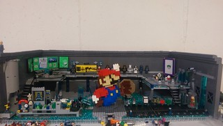 #17 more water, remodeled a little of the lab, and added some monitors. Also Mario is finished