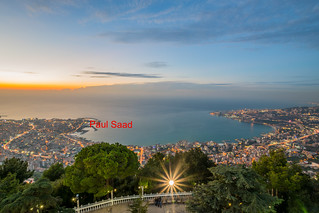 Jounieh Bay At Sunset,