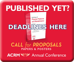 PIRR17_CallforPandP_BoxAds_300x250_2Apr17_3 (ACRM-Rehabilitation) Tags: scientificresearch scientificpaperposters acrmprogressinrehabilitationresearchconference pirr2017 archivesofphysicalmedicinerehabilitation