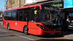 P1490835 1240 YY66 PYF at Wood Street Station Wood Street Walthamstow London (LJ61 GXN (was LK60 HPJ)) Tags: ctplus hackneycommunitytransportgroup enviro200 enviro200d enviro200mmc enviro200dmmc e200d mmc majormodelchange 1240 yy66pyf g2693