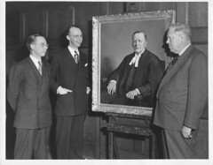Presentation of the Middleton portrait to the Law Society (Law Society of Upper Canada Archives) Tags: lawyersclub lawsocietyofuppercanada portraits judge lawyers law ontario