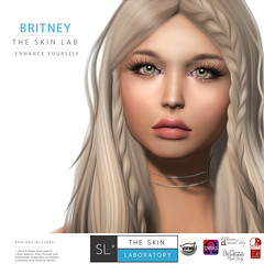 NEW - T.S.L Britney Skin for Catwa & Omega + All Body Appliers included (TheSkinLaboratory) Tags: sl second life skins skin women womens female girl fashion style the laboratory virtual designer creator store shop applier appliers omega catwa slink belleza maitreya new enhancement cosmetics makeover people portrait secondlife bento mesh head square 1 event events britney fb