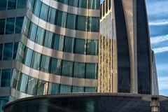 Detail, La Défense, Paris (johann walter bantz) Tags: défense paris modern contemporain detail nikon d4s 85mm colorful art visual