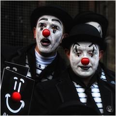 carnaval 0668 (leonhucorne) Tags: clown carnaval binche noir couleurs nikon d750 fullframe portrait street