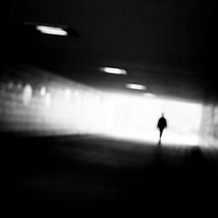 Mysterious (Sven Hein) Tags: mann menschen leute strasse unterführung schwarzweiss strassenfotografie mysterious man people street streetlife underpass tunnel spring bw blackandwhite candid streetphotography olympus omd em10markii