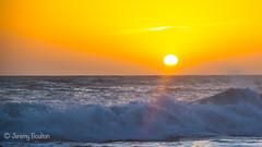 Peace at last (JKmedia) Tags: lizard cornwall boultonphotography 2017 canon sunset wave waves coast beach church cove sun orange yellow nature offset splash