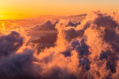 haleakala-sunset (brandon.vincent) Tags: haleakala sunset hawaii maui cloud clouds national park