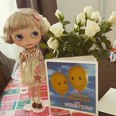 My little birthday darling today ❤