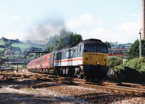 47805 (Sparegang) Tags: 47805 47257 47650 474 class47 brushtype4 sulzer crosscountrytrains 1m56 1999 westernregion totnes
