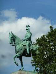 Kaiser Wilhelm II, Hohenzollern Bridge, Cologne Koln (Kevin J. Norman) Tags: germany koln cologne hohenzollernbridge kaiserwilhelmii