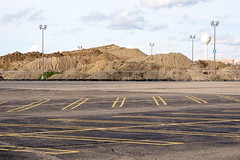 _4168396 (elsuperbob) Tags: southfield michigan detroit northlandcenter mall shoppingcenter shoppingmall newtopographics dirt parkinglot abandoned empty obsolete