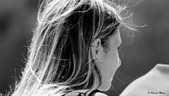 Girl in the street (patrick_milan) Tags: noiretblanc blackandwhite noir blanc monochrome nb bw black white street rue people personne gens streetview féminin femal femme woman women girl fille belle beautiful portrait face candide
