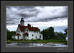 Lake Superior Lighthouse (the Gallopping Geezer '4.5' million + views....) Tags: lighthouse warning beacon ships boat ship freighter greatlakes lakesuperior mi michigan upperpeninsula up roadtrip historic old building structure canon 5d3 tamron 28300 geezer 2016