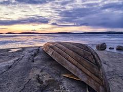Abandoned rowboat (Taavi Salakka) Tags: rowboat boat abandoned lappeenranta finland nature naturephotography landscape lakescape icedlake ice water springtime