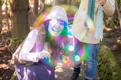 Sister looking at camera through huge soap bubble (Apricot Cafe) Tags: img29200 3039years asia asianandindianethnicities japan japaneseethnicity kyotojapan sigma35mmf14dghsmart blowing candid casualclothing charming cheerful day enjoyment forest freedom friendship fulllength happiness horizontal lifestyles lookingatcamera morning nature onlywomen outdoors photography relaxation sister sitting smiling soapsud springtime togetherness toothysmile tourism tourist traveldestinations twopeople weekendactivities women yoshidayama youngadult kyōtoshi kyōtofu jp