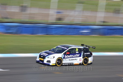 James Cole during qualifying during the BTCC Weekend at Donington Park 2017: Saturday, 15th April