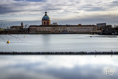 Toulouse reflection (Fabien Georget (fg photographe)) Tags: dômedelagrave sky clouds reflection water sunlighttoulouse landscape paysage ayezloeil beautifulearth bigfave canoneos600d canon elitephotography elmundopormontera eos fabiengeorget fabien fgphotographe flickr flickrdepot flickrunited georget geotagged flickunited winter mordudephoto nature paysages perfectphotograph perfectpictures wondersofnature wonders supershot supershotaward theworldthroughmyeyes shot photography photo greatphotographer french bluehour sunset blue hour heure bleue occitanie midipyrénnées eau waterscape