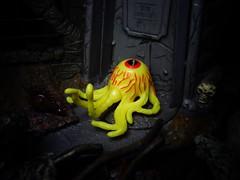 The Crawling Eye (ridureyu1) Tags: eye crawlingeye cyclops eyeofthecyclops mightymax bluebirdtoys toy toys actionfigure toyphotography sonycybershotsonycybershotdscw690