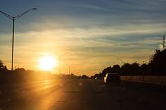 Sunset (StephanExposE) Tags: étatunis usa road route voiture car stephanexpose michigan urban sunset coucherdesoleil sun sky city ciel ville soleil canon 100mm 100mmf28lmacroisusm 600d
