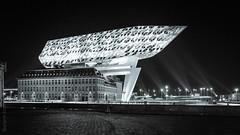 Zaha Hadid architecture #1 (Boriann) Tags: nieuwhavengebouw zahahadidarchitects antwerp havengebouw antwerpen boriann rbuijsman anvers architcture zahahadid wwwboriannbe anversa