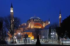 The HagiaSophia in Istanbul (greg luengen) Tags: church moschee mosque arab islam christianity tourist turkey türkei istanbul sony sonyalpha nex6