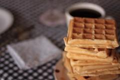 waffles  (Romina Guaraz) Tags: breakfast recipe blog brunch blogged waffles desayuno receta recipecard