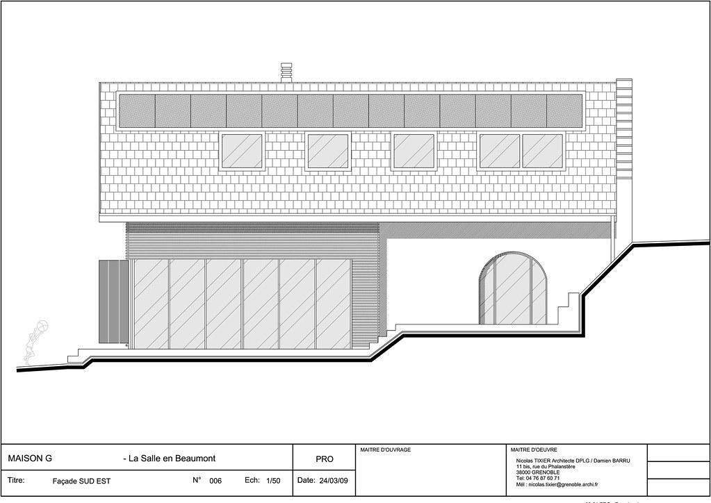 Coupe plan origine isabelle wingert tags house architecture plan maison vue coupe